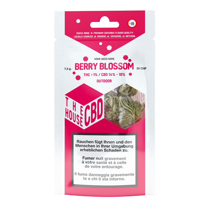 emballage berry blossom